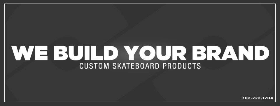 Custom Skateboard Manufacturing and Custom Denim. We Build Your Brand.