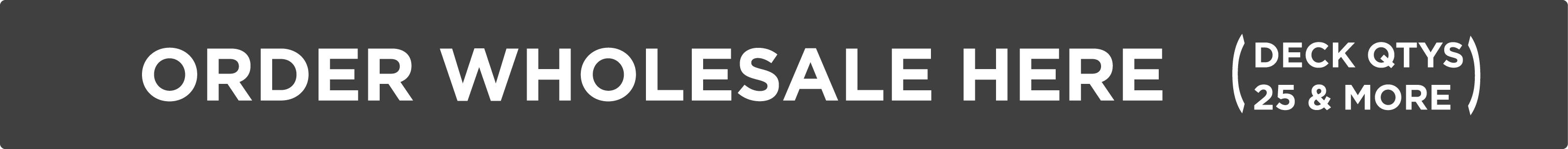 Custom Skateboard Wholesale Pricing